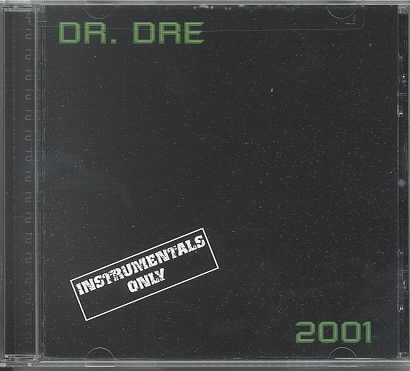 2001 INSTRUMENTAL BY DR. DRE (CD)
